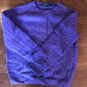 Polo L Wool+Cashmere Cable Knit